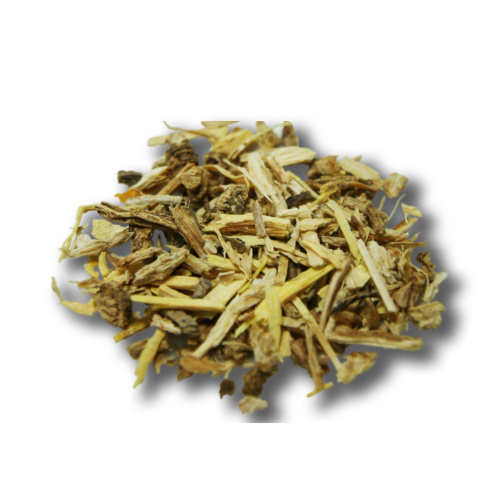 dried and chopped Angelica root - drinking.land