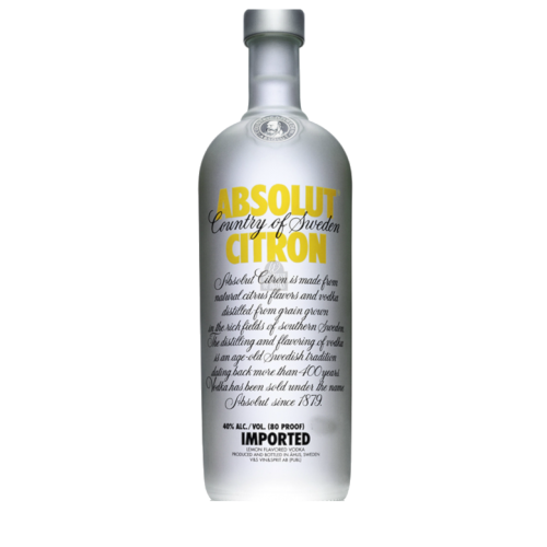 Absolut Citron - drinking.land