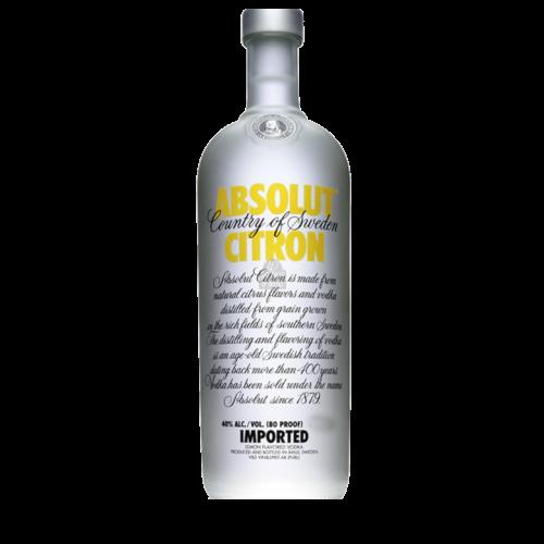 Absolut - wódka cytrynowa - drinkowanie.pl