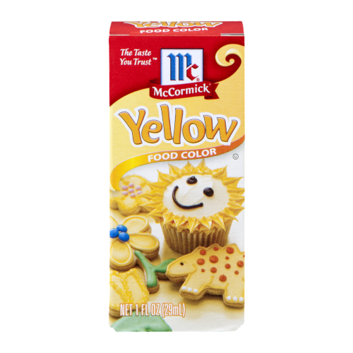 yellow Food coloring - drinking.land