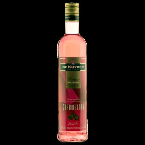 Truskawkowy likier (sznaps) - drinkowanie.pl