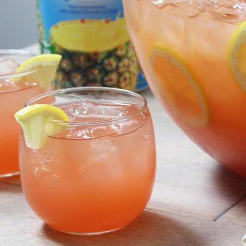 Sunny Holiday Punch