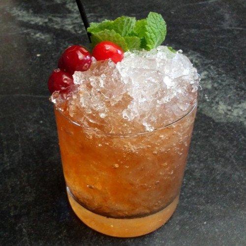 Brandy Cobbler - drinking.land