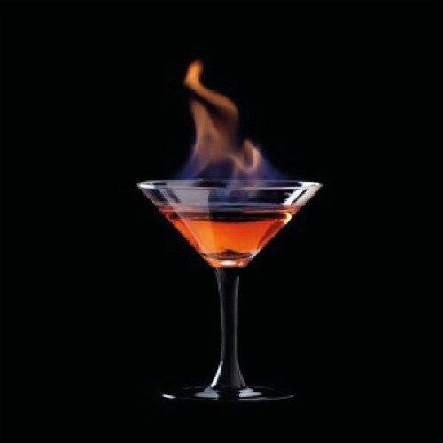 Flaming Lamborghini - drinking.land